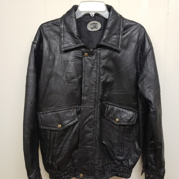 WFS Other - Leather Jacket, Real Leather